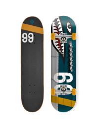 Komplette Streetsurfing Skateboard Shark Fire 449,00kr.