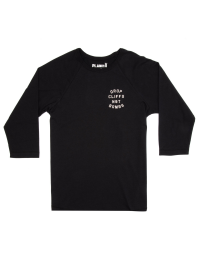 Tøj Planks Women's Drop Cliffs Stencil Long Sleeve T-Shirt 300,00 kr.